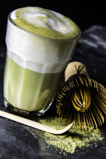 Matcha-Latte - Grüntee mit Milch