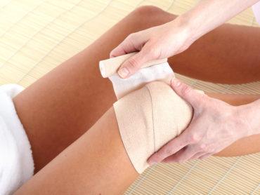 Quarkwickel fürs Knie - Anwendung und Wirkungsweise