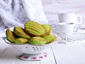 Matcha-Kekse Rezept