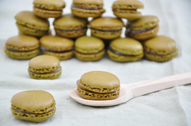 Rezept: Matcha-Macarons