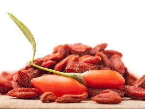 """Goji-Beeren die kleinen roten """"Wunderbeeren"""""""