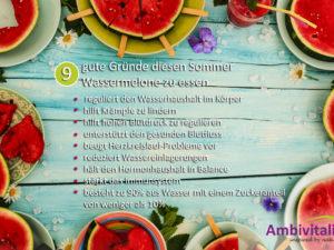 9 gute Gründe um diesen Sommer Wassermelone zu essen