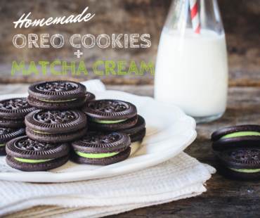 Rezept: Oreo Kekse mit Matcha zum Selbermachen