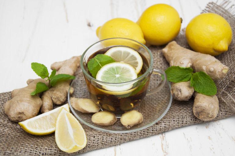 Matcha Tee gegen Erkältung