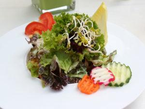 Matcha-Salatdressing