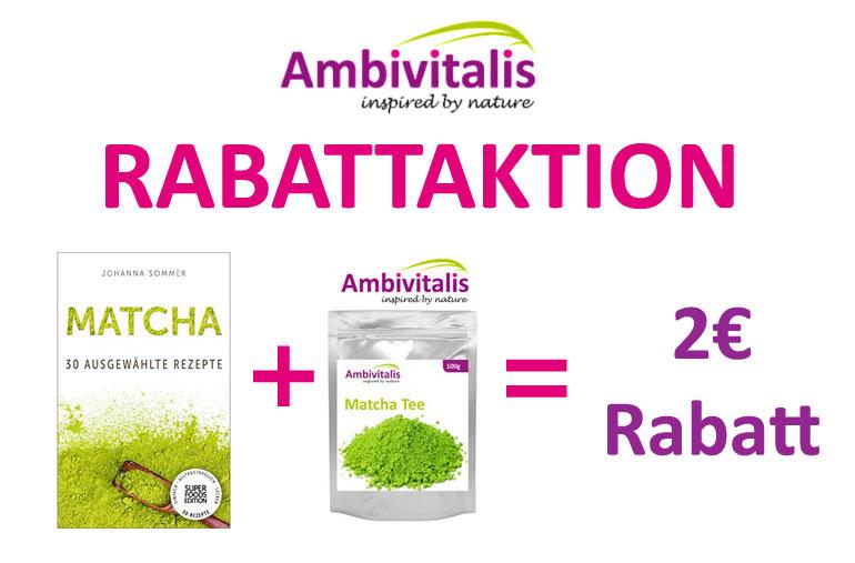 Matcha Tee Rabattaktion