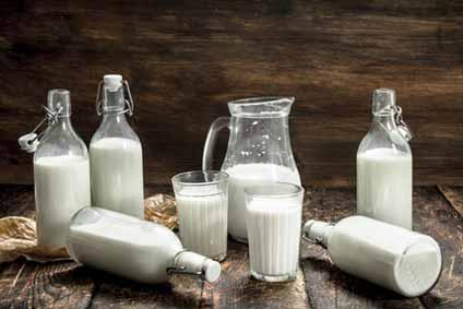Milch für Milchschaum