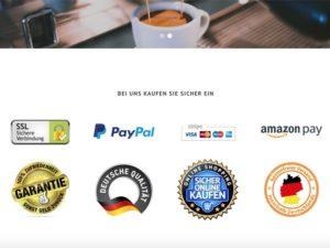 Unser Ambideluxe Onlineshop: ab sofort versandkostenfreie Lieferung