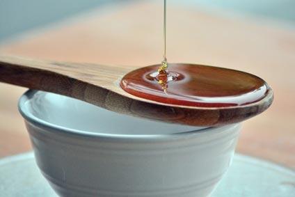Cappuccino mit Honig