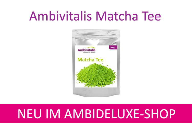 Matcha Tee neu im Shop