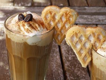 Kaffee Verzieren