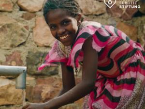 Wir spenden für sauberes Wasser